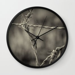 Pointy Droplets Wall Clock