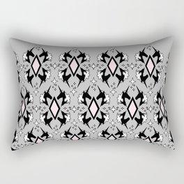 Unicorn Filigree Rectangular Pillow
