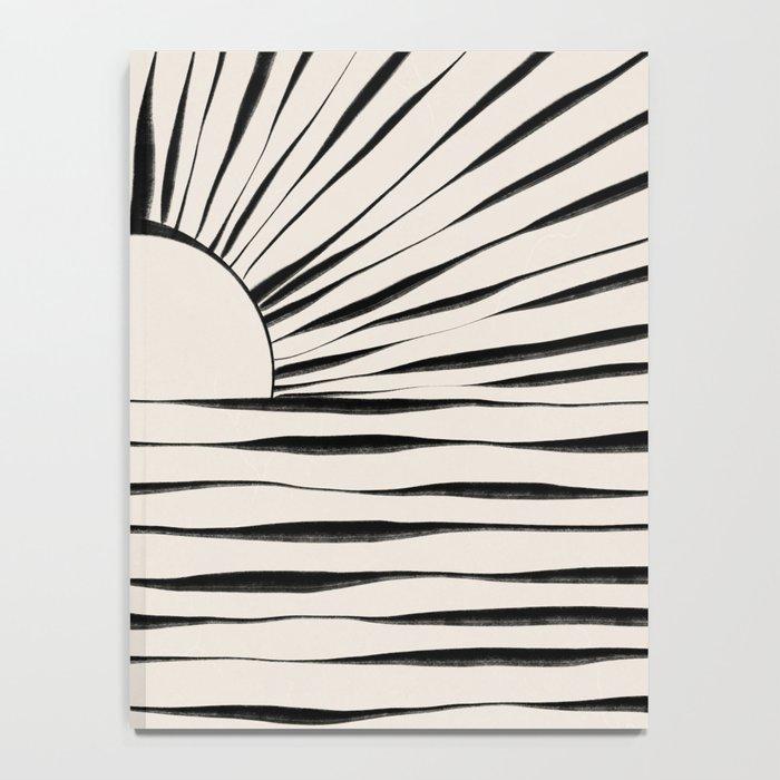 Minimal Sunrise / Sunset Notebook