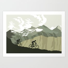 Trail Club III Art Print