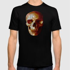 Exploiting Digital Behavior (P/D3 Glitch Collage Studies) Mens Fitted Tee X-LARGE Black