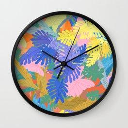 Tropical Overload Wall Clock