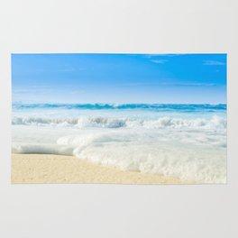 Aloha Beach Days Maui Hawaii Rug