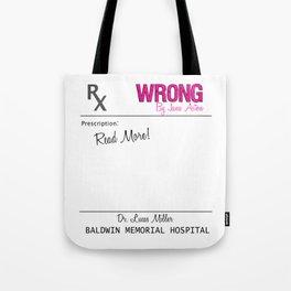 Prescription Pad Tote Bag