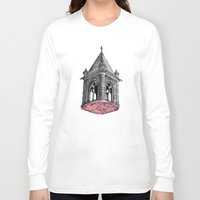 architecture Long Sleeve T-shirts featuring Fleshy Architecture  by J.P Ormiston