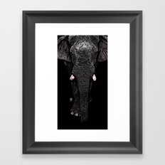 Elephant - Walking Tall Framed Art Print