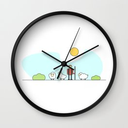 Shepherd Wall Clock