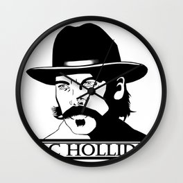 Doc Holliday Wall Clock