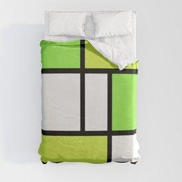 The fake Piet Mondrian Duvet Cover