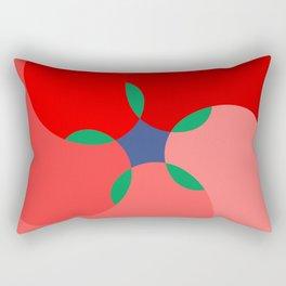 golden ratio flower Rectangular Pillow