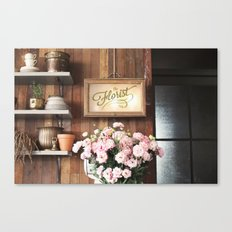 The Florist Canvas Print