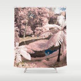 Tree ferns Shower Curtain