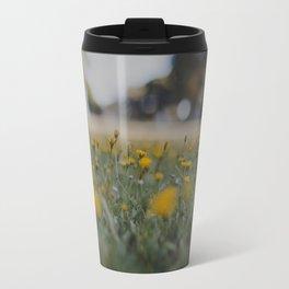 Yellow Summer Travel Mug