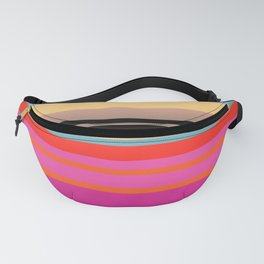 Sunset Stripes Fanny Pack