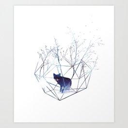 Organic prison Art Print