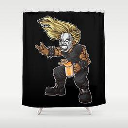 Heavy Metal Fan | Headbanger Music Festival Shower Curtain