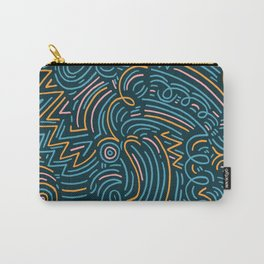 squiggle wiggles 002 Carry-All Pouch