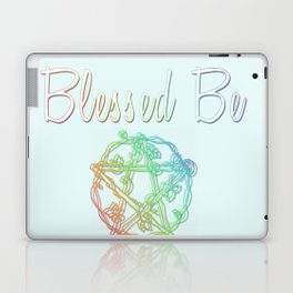Blessed be with pentacle Laptop & iPad Skin