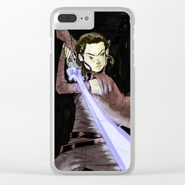Rey Clear iPhone Case