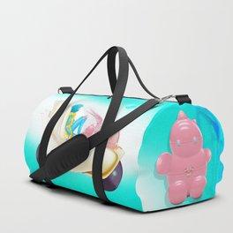 Time Bunny Girl and Art Robo Duffle Bag