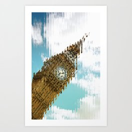 The Big one. Art Print