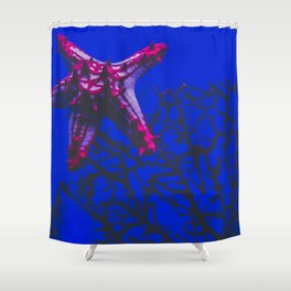 patrick star Shower Curtain