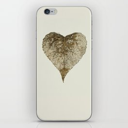 heart nature iPhone Skin