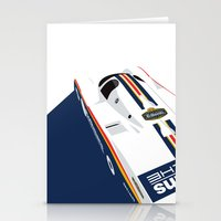 Stationery Cards featuring Porsche 962C, 1985 by Ricardo Santos