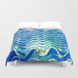 Rippling Waves Duvet Cover