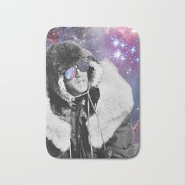 People of the Universe-Space Glasses-Purple Bath Mat