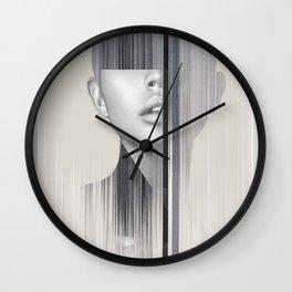 portrait(geometric) Wall Clock