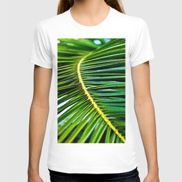 Green Palm Poetry T-shirt