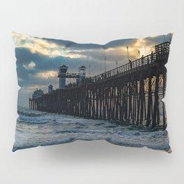 South Side Oceanside Pier ~10-2015 Pillow Sham