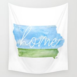 Iowa Home State Wall Tapestry