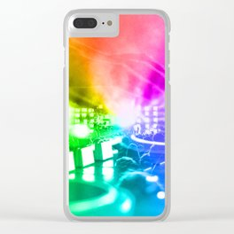 God is a DJ Clear iPhone Case