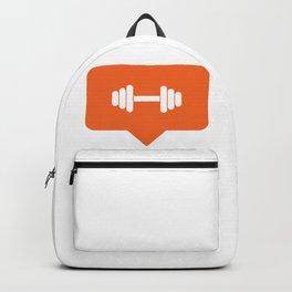 I like working out! Backpack