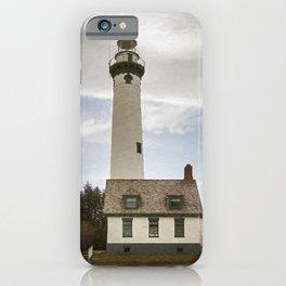 Presque Isle Lighthouse New Painterly iPhone Case
