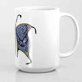 Nondescript Moth that you may talk with on a bus and never think about again Coffee Mug