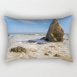 Rocky Paradise in Malibu Rectangular Pillow