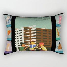 Les Monstres de Poches Rectangular Pillow