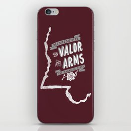 Mississippi Motto (Maroon) iPhone Skin