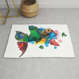 colorful fish Rug