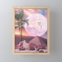 Pink Egypt Framed Mini Art Print