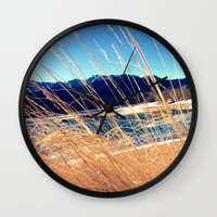 colorado Wall Clocks featuring Colorado by Fletchern