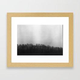 Hazy Dawn Framed Art Print