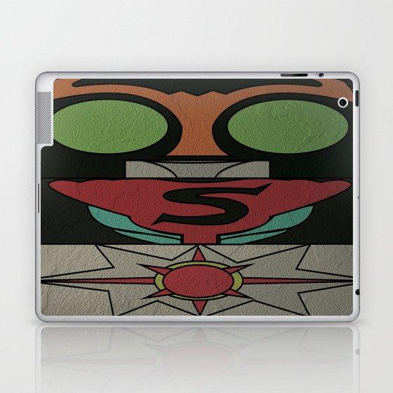 Kamen Rider Strong Laptop & iPad Skin