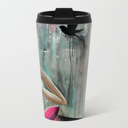 Namaste  Metal Travel Mug