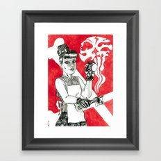 Deadly Barista Framed Art Print