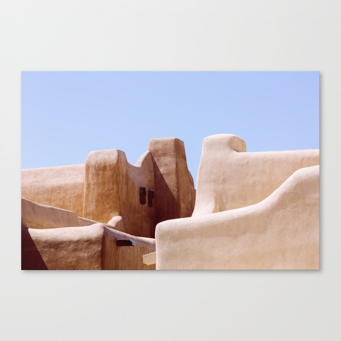Colors of Santa Fe Leinwanddruck