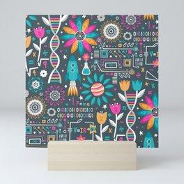 Flowers & STEMs Mini Art Print